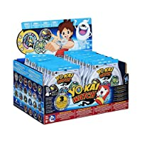 Bring home the hilarious personality of the characters from the animated series with the Yo-kai Watch Medals. This display contains 24 packs with 3 medals each.