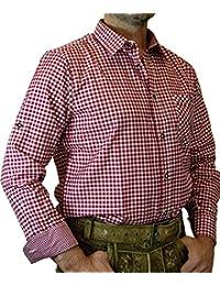 trenditionals Trachtenhemd Martin kariert mit edlen Karo Kontrasten Übergröße 4XL - 8XL