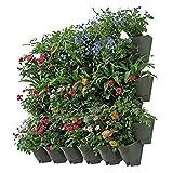 Worth Garden 36 Bolsillos Sembradora Vertical de jardín de Interior/Exterior decoración de Plantas Sistema de riego por Goteo