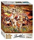 Puzzle 1000 Teile - Finde 12 Pferde!
