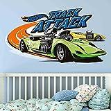 Bilderwelten Wandtattoo Hot Wheels Track Attack, Sticker Wandtattoo Wandsticker Wandbild, Größe: 60cm x 90cm