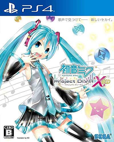 Hatsune Miku Project Diva X HD - Standard Edition [PS4][Importación Japonesa]