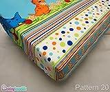 Baumwolle Spannbettlaken 60x 120cm (in Favorite Stoff Muster/Design)–Muster 20