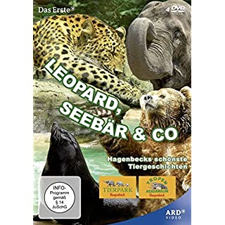 Leopard, Seebär & Co. [4 DVDs]
