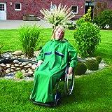 Rollstuhl Regencape Multifunktional mit Armen für Erwachsene 5 schwarz