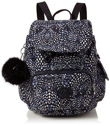 Kipling Damen City Pack S Rucksack, Mehrfarbig (Soft Feather), 27x33.5x19 cm