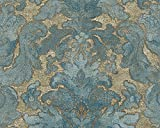 A.S. Creation VliesTapete Kollektion Bohemian Burlesque, blau, 960461