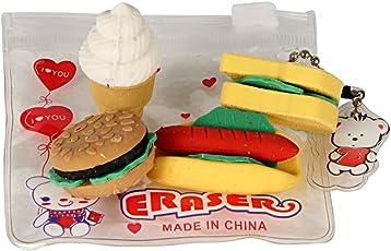 Ice Cream Shaped Erasers