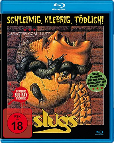 Slugs-Schleimig,Klebrig,Tödlich! (Uncut) [Blu-ray]
