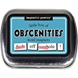 Magnetic Poetry Little Box Of Obsceneties Words For Refrigerator Write Poems And Letters On The Fridge