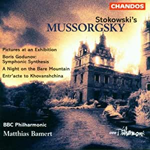 Mussorgsky (arr Stokowski) - Pictures at an Exhibition, Boris Godunov, Night on Bare Mountain