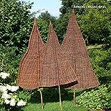 VIDEX-Sichtschutz-Weidenbaum, Natur, groß, Ca. B: 110cm x H: 240cm (Davon 95cm Stamm)