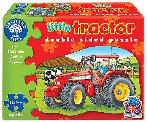 Orchard Toys - Piccolo trattore, Puzzle doppio