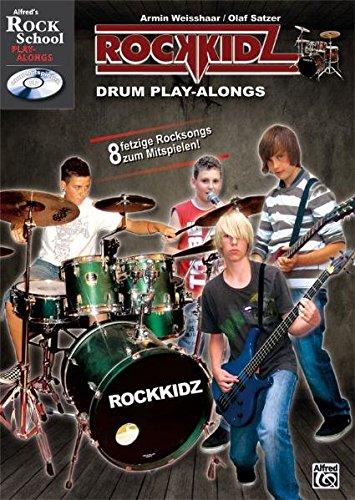 Rockkidz Play-alongs: Rockkidz Drum Play-alongs (Alfred's Rock School Play-alongs)