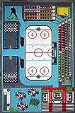 Bambino tappeto pattinaggio - Hockey su ghiaccio TAPITOM ® - 130 x 200 cm