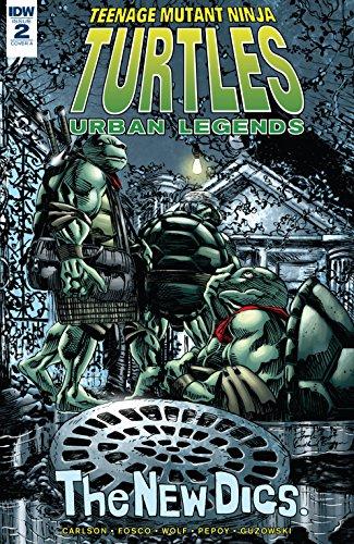 Teenage Mutant Ninja Turtles: Urban Legends #2 (English ...