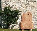 Stein - Stand/Wandbrunnen MERANO antik/terrakotta