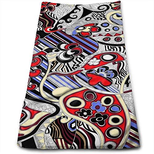 Hectwya Schnelltrocknende Handtücher Reisetuch Strandtuch 30 x 70 cm