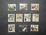 FaisTonGateau - fèves thème Droopy Casino - 10 fèves de collection