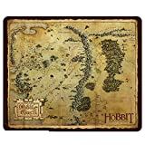 The Hobbit Middle Earth Map Mauspad Mauspad – 23 x 19 cm