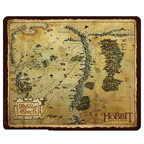 Preisvergleich Produktbild The Hobbit Middle Earth Map Mauspad Mauspad–23x 19cm