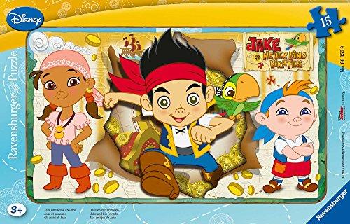 Ravensburger 060559 - Jake und die Nimmerland Piraten Rahmen ()