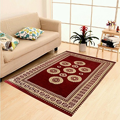 Home Best Abstract Chenille Carpet, Premium Living Room cotton touch Carpet /...