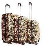 Lorenz accessori ultra leggero 3set di 4trolley. Questo set funky valigia sarà facile da individuare sulla cintura e vi permetterà di supporto della folla. Tutte le valigie sono dotati di un manico estraibile, regolabile Scomparto un lucche...