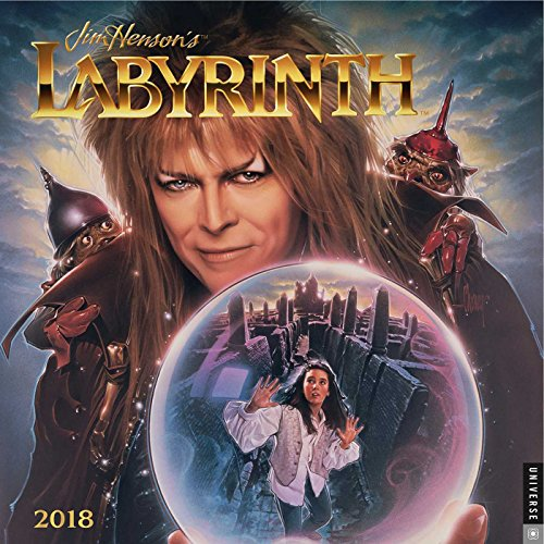 Official Labyrinth 2018 Wall Calendar