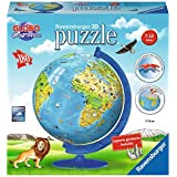 Ravensburger - 3D Globo new edition, 180 piezas (12516)