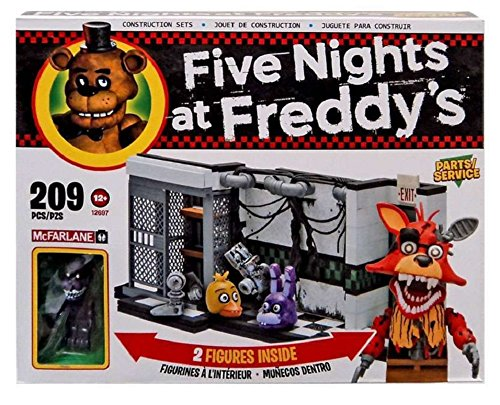 Image of Five Nights At Freddy's Construction Set - Parts And Service