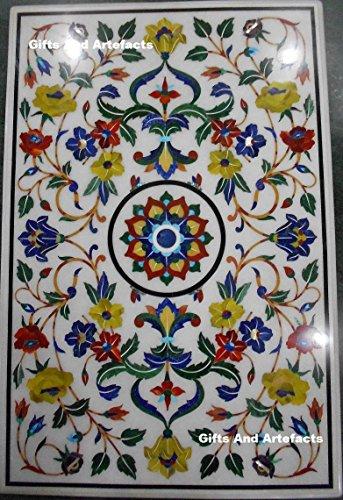 152,4x 91,4cm Rechteck weiß Marmor Einlage Muster, mit Luxus Konferenz Tisch Top