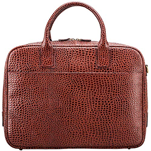 Maxwell Scott Bags® Kroko Luxus Aktentasche