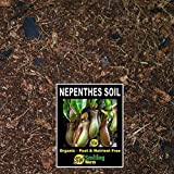 Sonriente Worm Potting Soil, macetas, Compost, para planta carnívora, Nepenthes, jarra planta, creciendo media, 4. Recién mezcla a fin de carbón de turba libre ingredientes orgánicos incluidos.