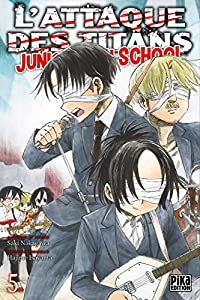 L'Attaque des Titans - Junior High School Edition simple Tome 5