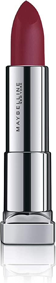 Maybelline New York Color Sensational Powder Matte Lipstick, Plum Perfection, 3.9g