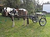 Sulky Oxer mit Scheibenbremsen für Ponys / Haflinger (bis ca. 1,50m)
