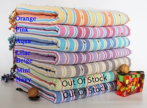 set-of-2-pompon-peshtemal-tnt-express-shipment-the-next-day-delivery-bath-towel-beach-towel-pestemal