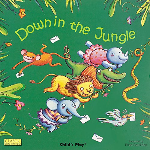 Down in the Jungle (Classic Books with Holes 8x8)