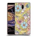 Head Case Designs Offizielle Celandine The Wild Side Pastell Wilde Kerle Soft Gel Hülle für Nokia 7 Plus