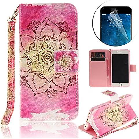 Sunroyal ® [Cierre Magnético] Bookstyle para Apple iphone 7 Plus 5.5