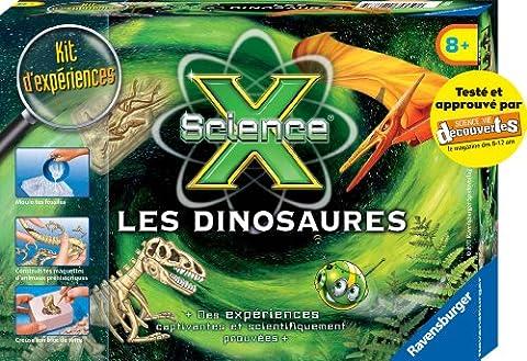Dinosaures Fossiles - Ravensburger - 18161 - Jeu Éducatif et