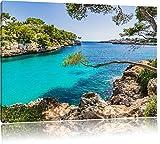 Pixxprint Idyllische Ansicht des Mittelmeers am Mallorca