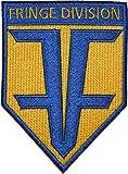 FUTURE ZURÜCK Fransen Division Badge Pin Pins Anstecker Aufnäher Patch zum Aufbügeln oder Annähen 10,16 cm