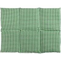 Körnerkissen groß 40x30   6-Kammer   grün-weiß   Wärmekissen preisvergleich bei billige-tabletten.eu
