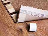 Premium Teppich-Gleitschutz -MADE IN GERMANY - Antirutsch - Band 760 cm lang , indivduell zuschneidbar - Fixing Tape - Größe 760 cm x 6,4 cm - kein Verrutschen mehr - verhindert Faltenbildung - universell einsetzbar - robust - hochwirksam - strapazierfähig (760 cm TAPE IT FIXIERBAND)