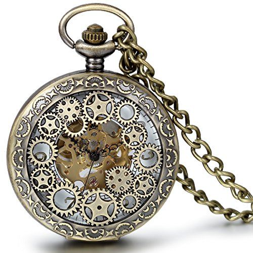 jewelrywe-classic-media-hunter-metal-reloj-mecnico-de-engranajes-reloj-de-bolsillo-con-cadena-bronce