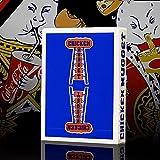 SOLOMAGIA Chicken Nugget Playing Cards - Blue - Kartenzauber - Zaubertricks und Magie