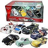 Disney Cars Cast 1:55 - Veneno Pack Tokyo Race - 7 Auto Vehículos en Set