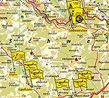 Fränkische Schweiz - Oberes Maintal - Frankenalb: Erlebnisführer mit Informationen zu Freizeiteinrichtungen auf der Kartenrückseite, wetterfest, reißfest, GPS-genau - 1:130000 (Erlebnisführer / EF) -